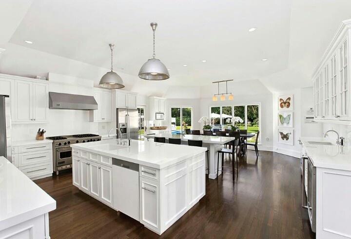 South Hampton kitchen clean and white