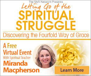 Letting go of spiritual struggle