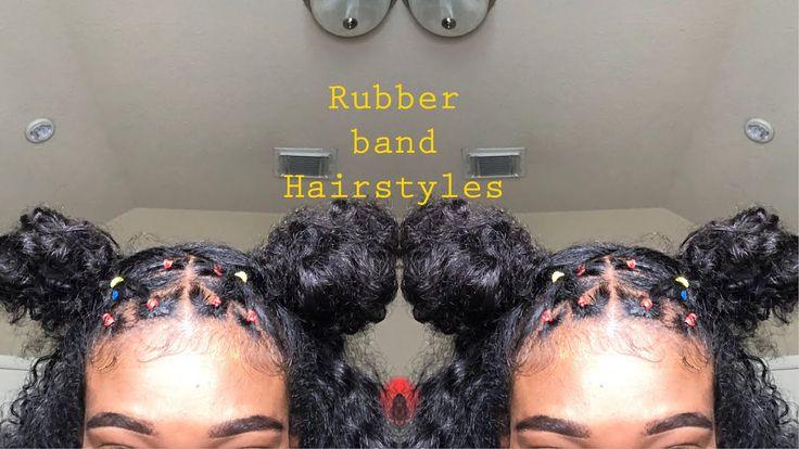 Rubber Band Hairstyles Rubber Band Hairstyles Natural