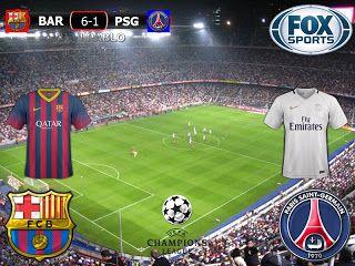 UEFA Champions League 2016/17 8º Final Vuelta: Barcelona (ESP) 6-1 (6-5) Paris Saint Germain (FRA)
