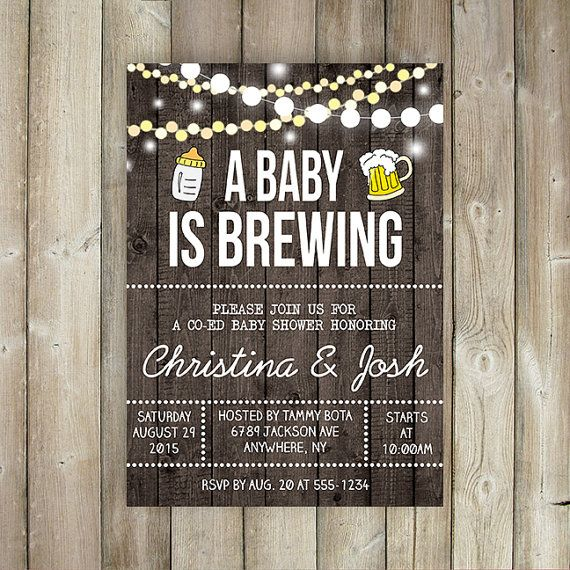 Hoi! Ik heb een geweldige listing op Etsy gevonden: https://www.etsy.com/nl/listing/241770995/a-baby-is-brewing-baby-shower-invitation