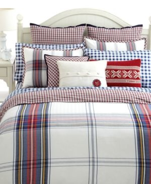 17 best new england style bedroom images on pinterest bed sheets tommy hilfiger bedding tartan collection bedding collections bed bath macys bridal and wedding registry sisterspd
