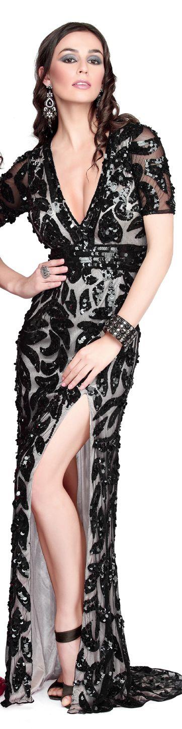 Primavera Couture Evening Dresses #sexy #black <3