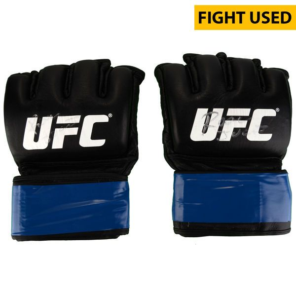 Roan Carneiro Ultimate Fighting Championship Fanatics Authentic Autographed UFC Fight Night: Cowboy vs. Cowboy Fight-Worn Gloves - Fought Derek Brunson in a Middleweight Bout - $199.99
