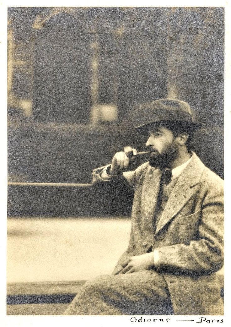 Faulkner in Paris, 1925. One of his favorite places was in the Luxembourg Gardens / William C. Odiorne.