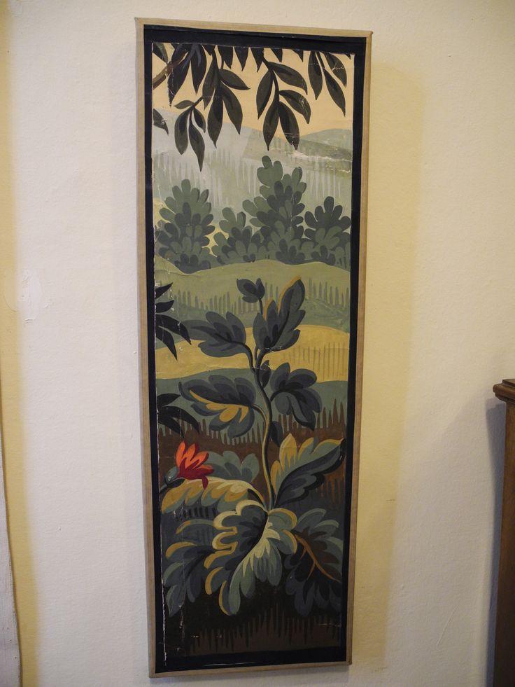 Un'altro esempio di altissimo artigianato d'Aubusson