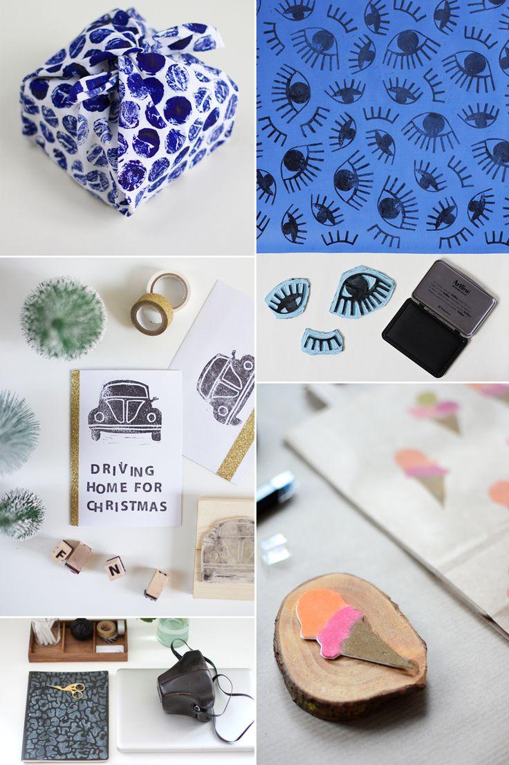 we love handmade | we love Inspiration: Unsere Stempel-DIYs | http://welovehandmade.at