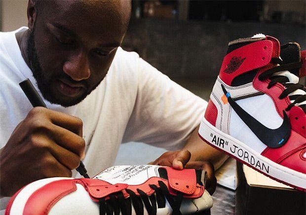 Virgil Abloh's OFF WHITE x Air Jordan 1