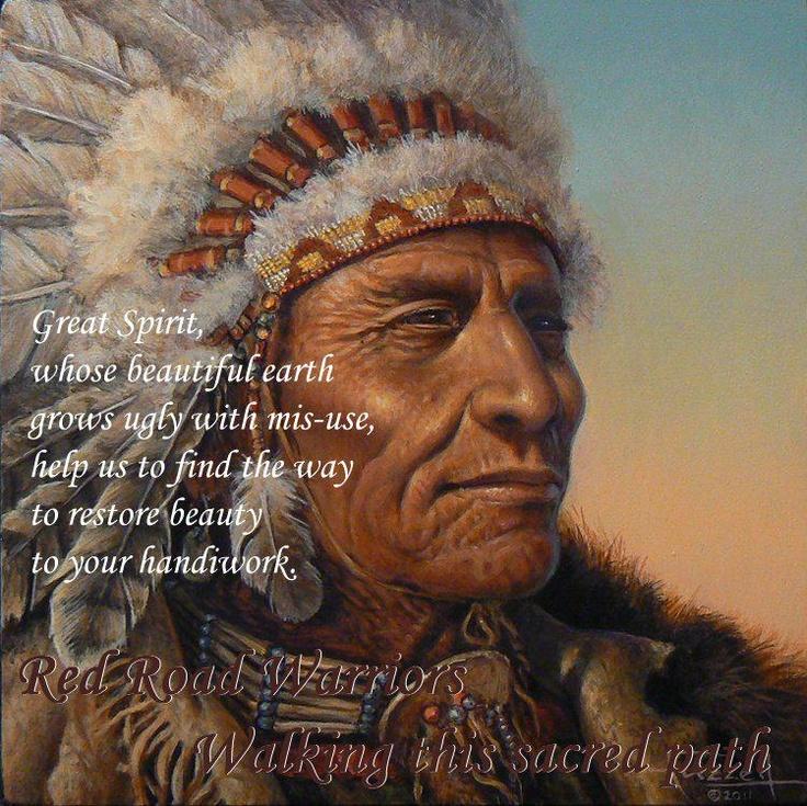 Great Spirit's handiwork