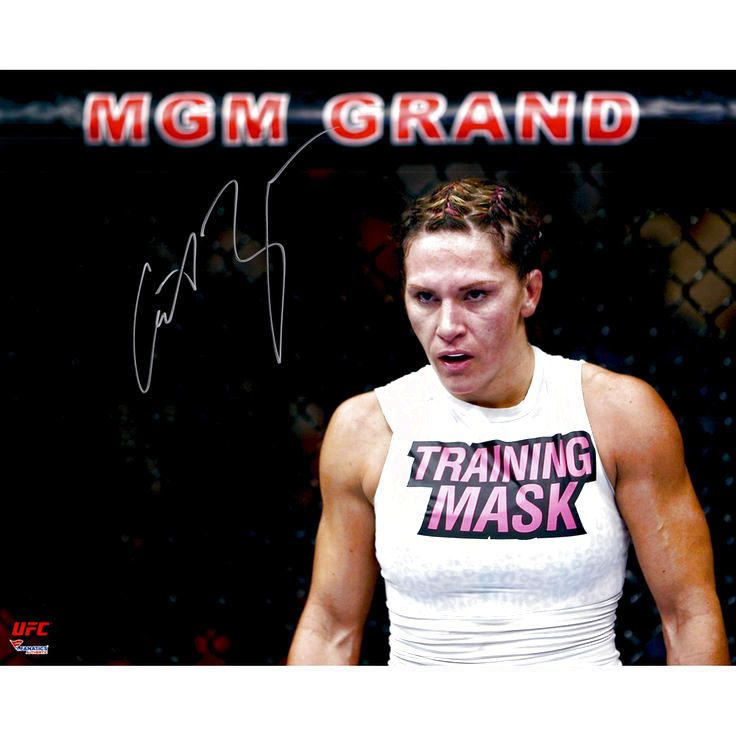 """Cat Zingano Ultimate Fighting Championship Fanatics Authentic Autographed 16"""" x 20"""" Standing Against Cage Photograph - $39.99"""
