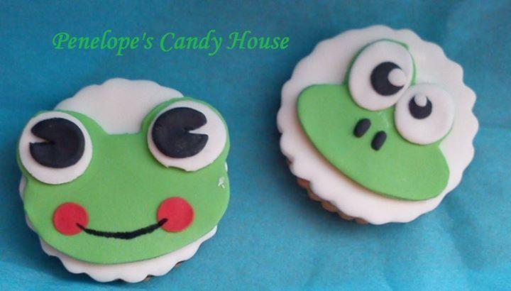 frog biscuit