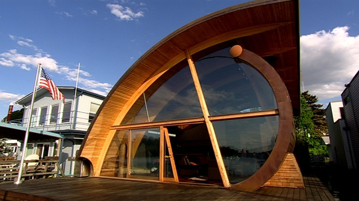 Fennell Residence At Willamette River Portland Oregon