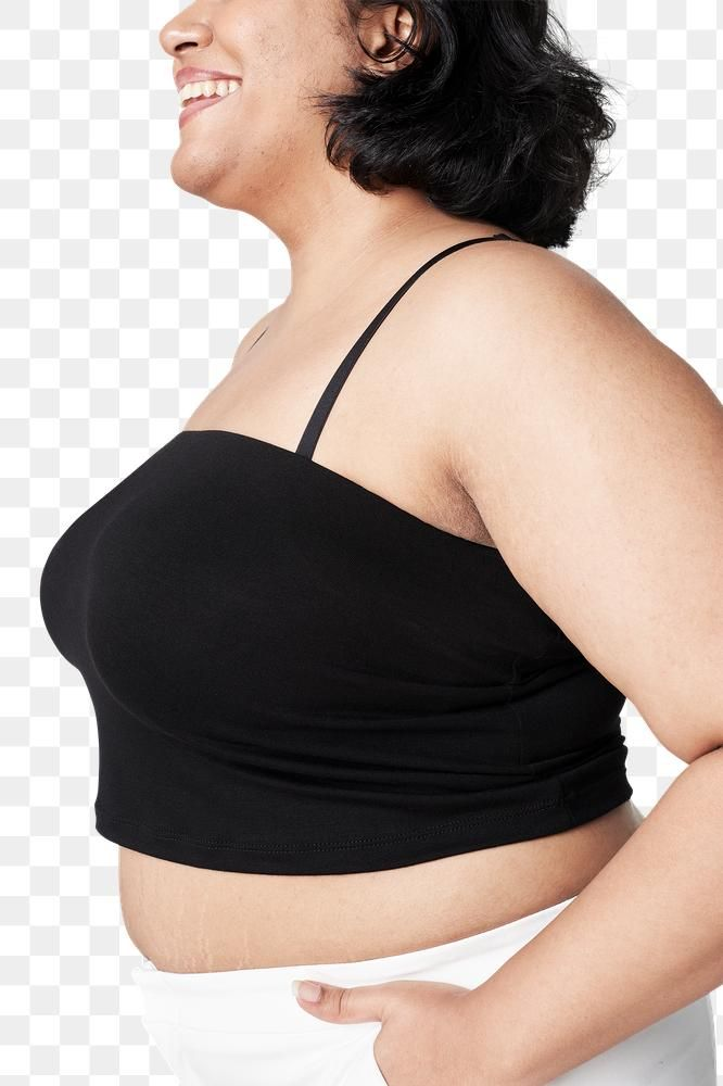 Download Premium Png Of Plus Size Women S Black Tank Top Png Mockup Black Tank Tops Clothing Mockup Black Tank