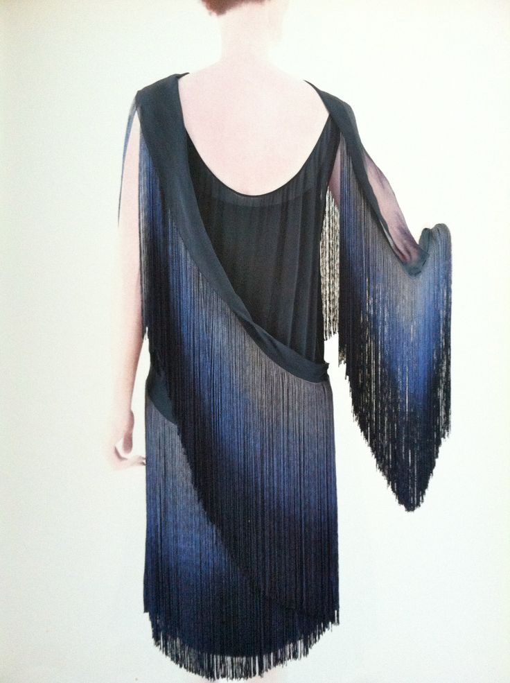 Coco Chanel 1920s--dripping with Fringe Myra Inspiration