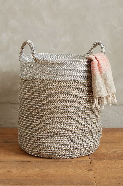 sun stream basket #anthrofave #hamptonsdecor