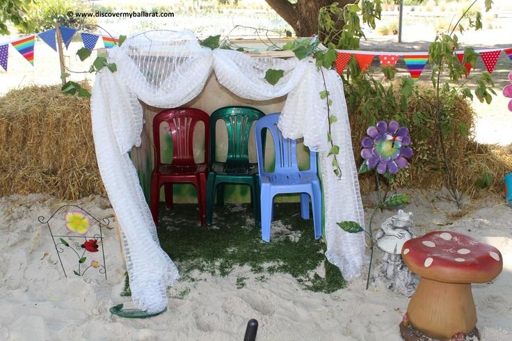 Sandpit at the Festival
