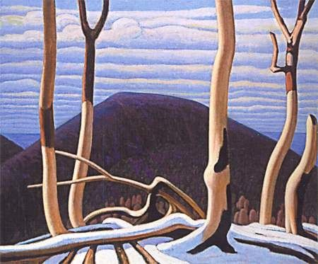 Lawren Harris, Above Lake Superior c. 1922 Oil on Canvas 121.9 x 152.4 cms Art Gallery of Ontario, Toronto. © Art Gallery of Ontario, Toronto. Gift from the Reuben and Kate Leonard Canadian Fund, 1929. By kind permission of Stewart Sheppard esq. — The Lawren S. Harris Estate.