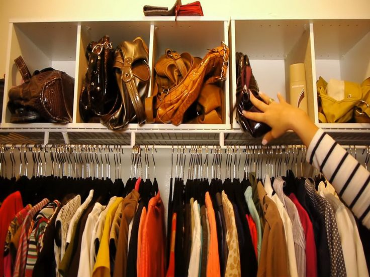 How To Organize A Walk In Closet: