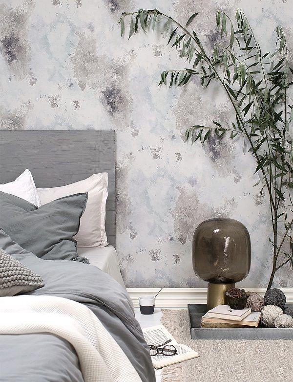 Una camera da letto nei toni del grigio - Interior Break