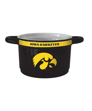 This Iowa Hawkeyes Game Time Bowl is perfect! #zulilyfinds