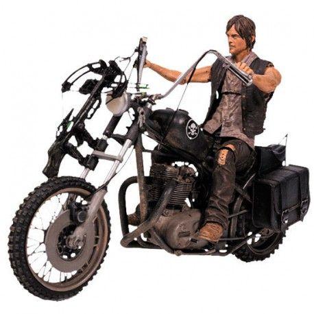 Figura Daryl Dixon #TheWalkingDead. 18x13cm. Precio: 39,08€. #Merchandising oficial barato para regalar.