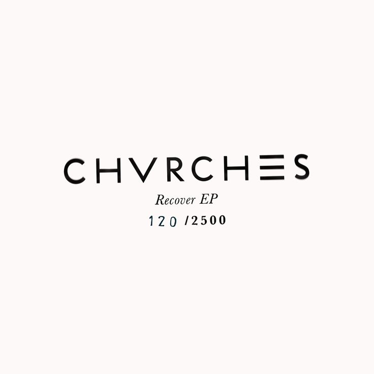"""Artist: CHVRCHES  Album: Recover EP  Format: 12"""" Vinyl  Country: US"""