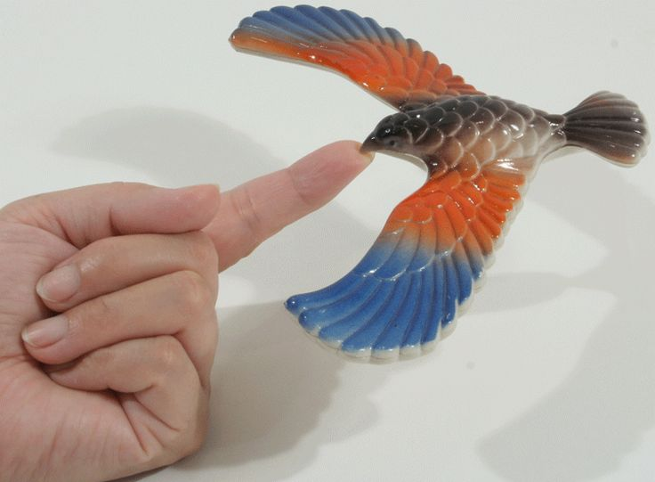 Balancing Bird Center of Gravity Physics Toy 6.5 inch Wing Span [Toy] | Toys Central