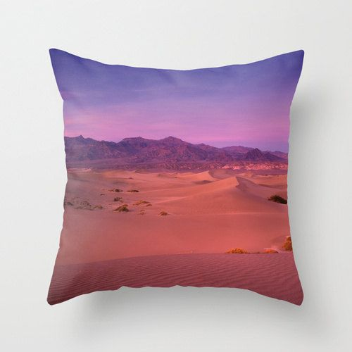 Pink and Purple Throw Pillow Orchid Home Decor Purple Home Decor Death Valley Sand Dunes Sunset & 39 best BUSINESS IDEAS images on Pinterest | Cushions Decorative ... pillowsntoast.com