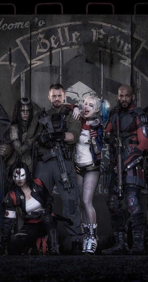 Directed by David Ayer.  With Margot Robbie, Scott Eastwood, Jared Leto, Cara Delevingne. A secret government agency recruits imprisoned supervillains to execute dangerous black ops missions in exchange for clemency.