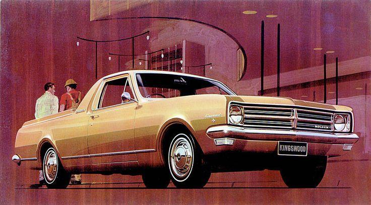 Holden HK Ute (1968) – Australia's version of the El Camino #Holden #Ute #Australia #Pickup