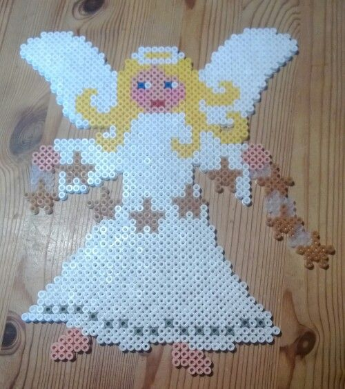 Christmas Angel perler beads