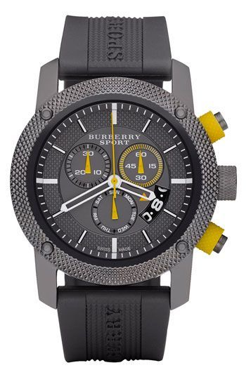 Burberry Timepieces Sport Chronograph Watch #luxury - For the sporty gent #accessories