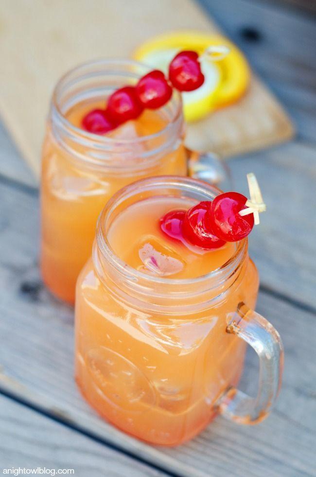 Coconut Rum Punch   anightowlblog.com