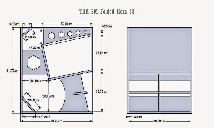Folded horn speaker plans subwoofer box design