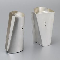 The Dutch Connection2009Sterling Silver Salt and Pepper set.