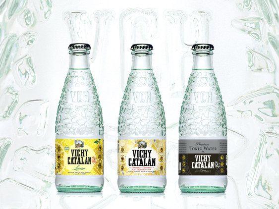 Nuevos envases de vidrio para Vichy Catalán