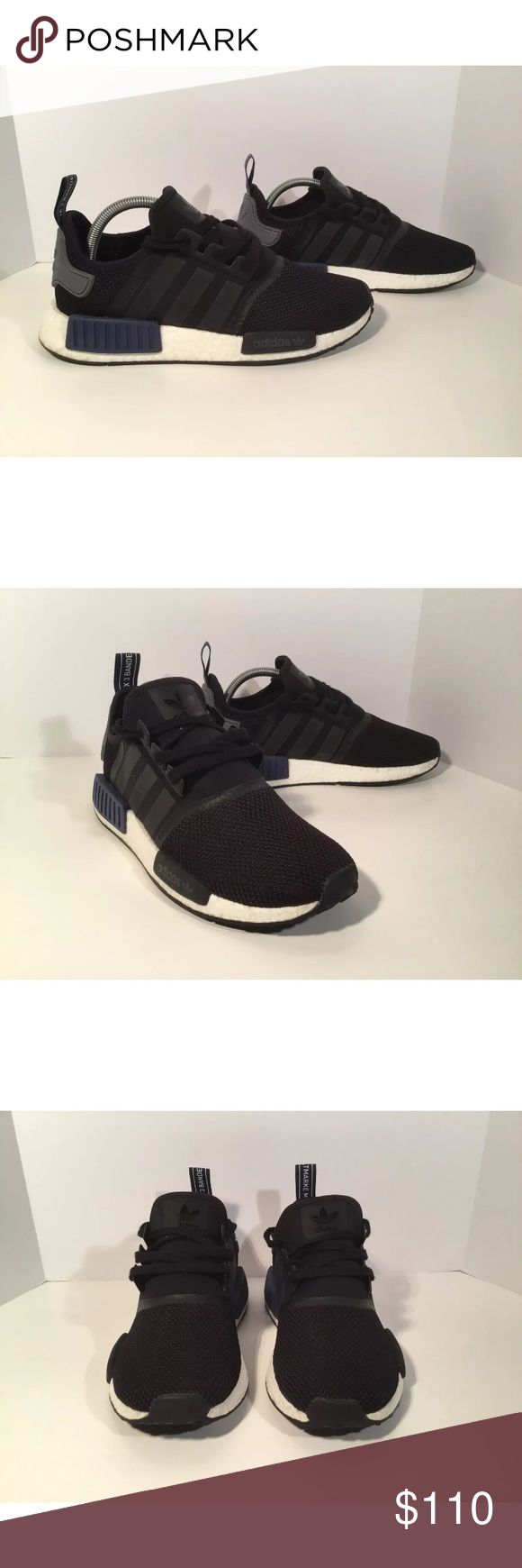 Adidas NMD R1 Sports Heritage Item details:   -adidas brand  -in great condition, basically brand new  -Men's Size 8.5  -boost technology  -NMD R1   All my shoes are 100% authentic. Buyer satisfaction is very important to me and I will always do my best to make sure you have a good experience when purchasing my items. I sell many hard to find, past season, and popular shoes at discount prices. If I have the box for the shoes, I always include it in the pictures. adidas Shoes Athletic Shoes