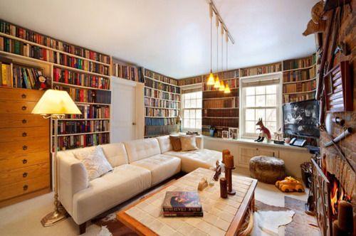 Home Pools, Book Lovers, Dreams Libraries, Dreams Home, Home Libraries, Pools House, Dreams House, Living Room, Reading Room