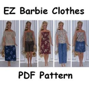 Easy Barbie Clothes