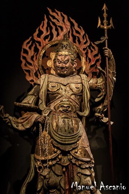 Standing Komokuten (Virupaksa) - 四天王像広目天 by Askanioff, via Flickr