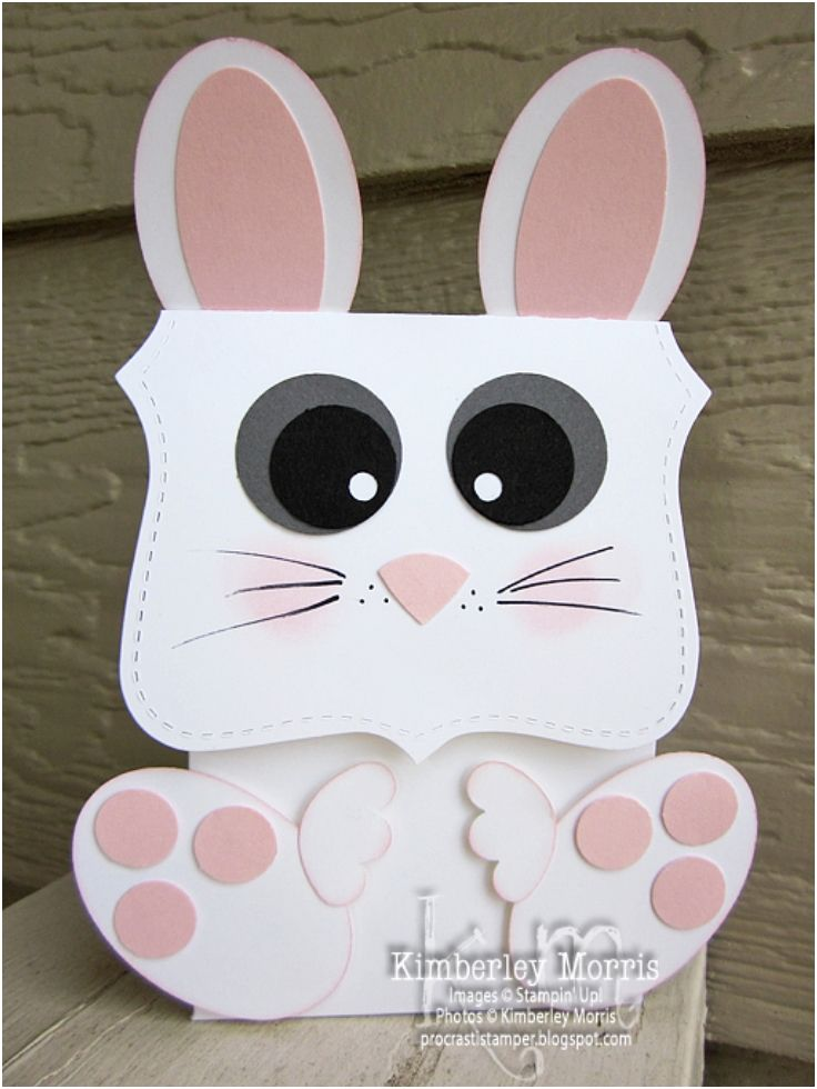 8 Sweet Easter Bunny Treat Bags
