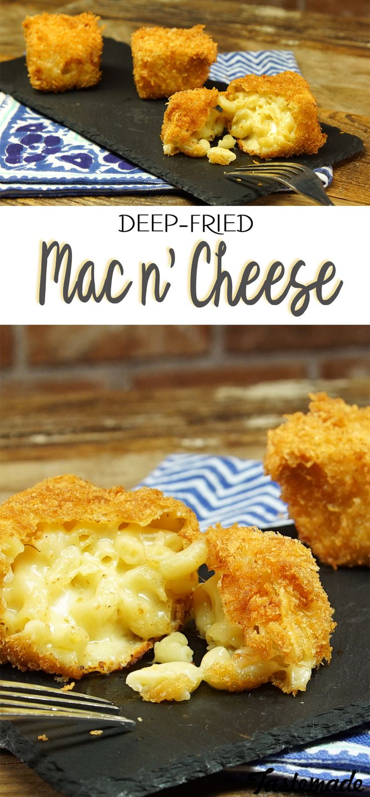 Can frying an already perfect food like mac 'n' cheese make it perfect-er?