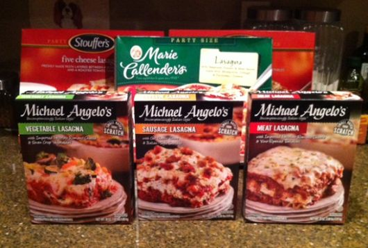 $1/1 Michael Angelo's Frozen Foods Coupon and Lasagna Review! Such fun comparing Michael Angelo's with their competitors!