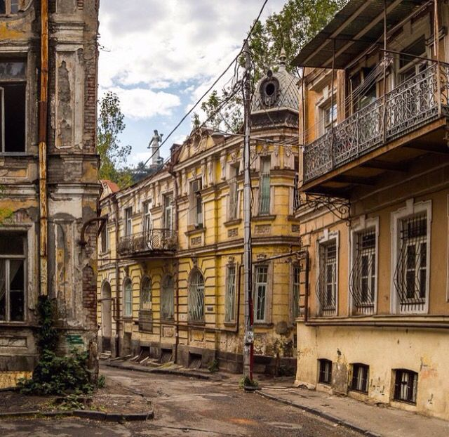 A Old Abandoned Decaying City, Tbilisi, Georgia