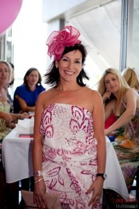 Joanna from Place modelling at The Place Pink Lunch 2012