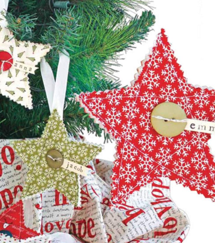 Simple Quilted Ornaments                                                                                                                                                                                 More
