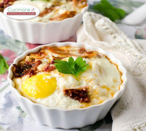 Cocotte uovo e formaggio
