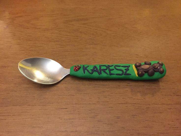 Polymer Clay Spoon