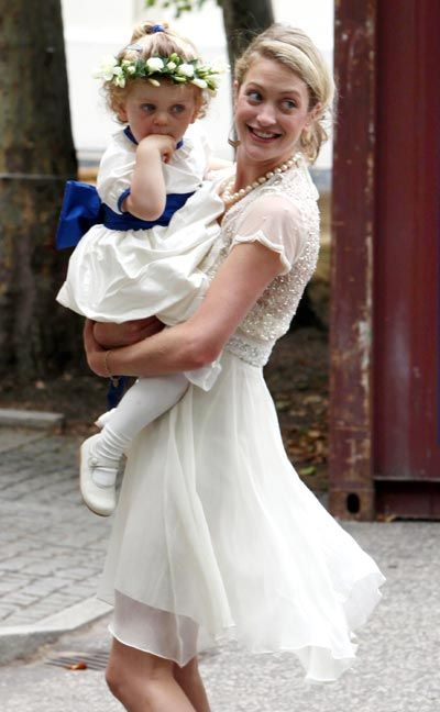 Rose van Cutsem, is married to Hugh van Cutsem and parents to Grace, Rafe and Charlie.  Grace was a bridemaid at William and Kate's wedding.  Rose is founder of Maggie & Rose, a shop for young mothers in Kensington.
