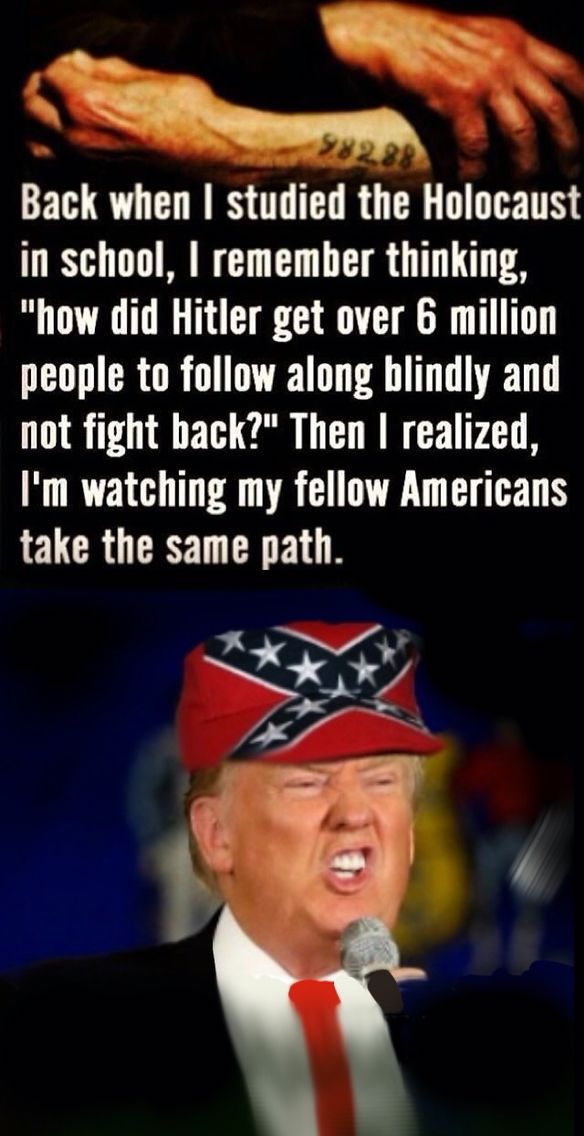 Trump is a belligerent racist that feels it's the most vulnerable in our society to blame not his own corrupt tax cheating, business failing incompetence.